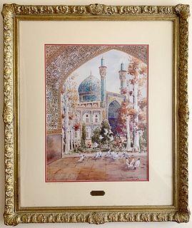 A Mansour Khaleghi (Persian Artist) Painting