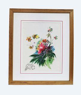 Ali Heydari Flower Painting