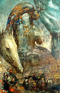1966 Armen Gasparyan Abstrect Painting