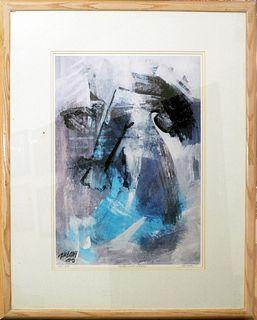 Determination, A Hessam Abrishami painting
