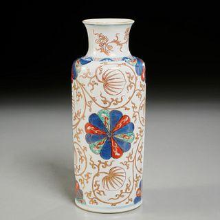 Verte Imari porcelain vase, ex-Christie's