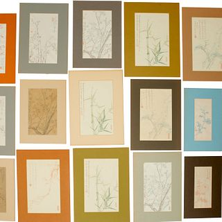 Collection of Chinese decorated letter papers