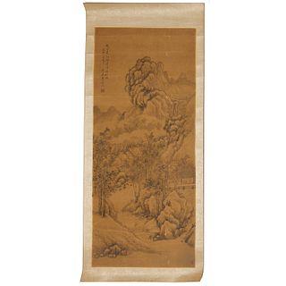 Mark of Li Zhen Xian 署名 李振先, scroll painting