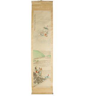 Mark of Huang Shan-Shou 署名 黄山寿 , scroll painting