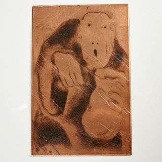 Marc Chagall, (24) copper etching plates