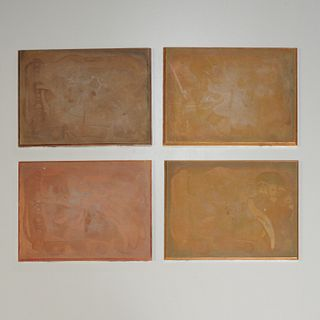 Fernand Leger, copper printing plates
