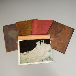 Foujita, copper printing plates