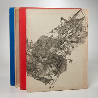 (4) Illustrated limited editions, incl. Brauner