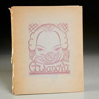 Andre Collot, erotic Casanova portfolio, 1932