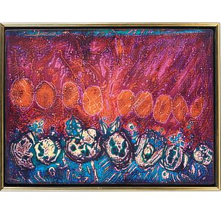 Charles Seliger, oil on canvas, 1970