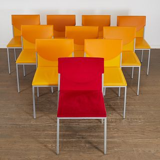 (10) KFF Unit side chairs