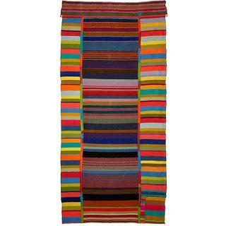 Bauhaus style Modernist wool tapestry
