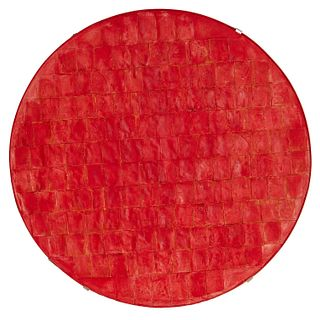 Robert Courtright, large tondo, 1981