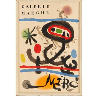 Joan Miro, Galerie Maeght exhibition poster
