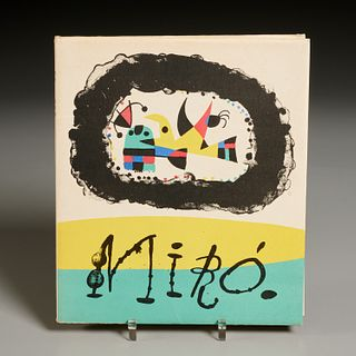 Jaques Prevert, Joan Miro with (10) lithographs