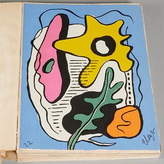 Fernand Leger, le nouvel espace, signed lithograph