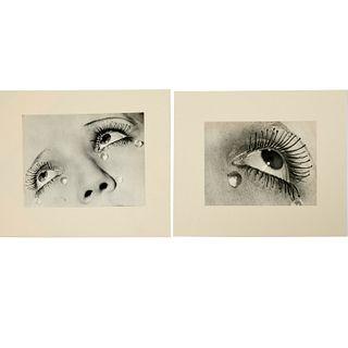 Man Ray, pair of photographs