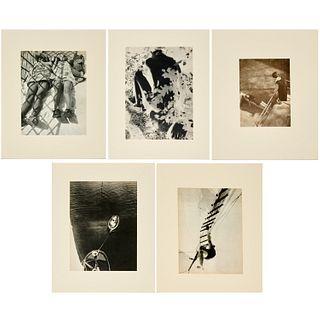 Laszlo Moholy-Nagy, (5) photographs