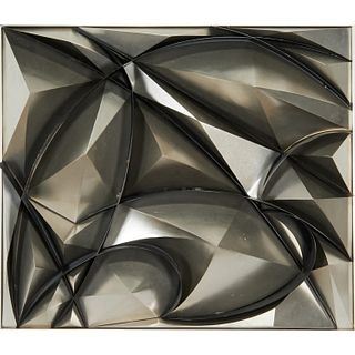Giacomo Balla, mixed metal sculpture, 1913/1968