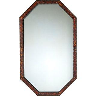 Parish-Hadley, ebonized wood & tortoise mirror