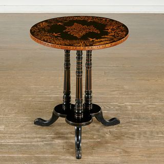 Victorian Fern Ware occasional table