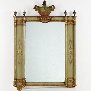 Parish-Hadley, Neoclassical painted mirror