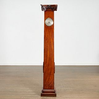 Thwaites Ionic column-form tall case clock