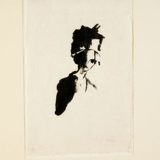 Emil Nolde, rare lithograph, 1911