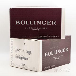 Bollinger La Grande Annee Rose 2007, 12 bottles (2 x oc)