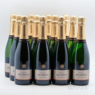 Henriot Brut Souverain NV, 12 bottles (oc)