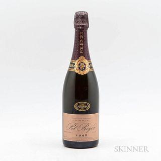 Pol Roger Extra Cuvee de Reserve Rose 1988, 1 bottle