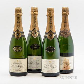 Pol Roger Extra Cuvee de Reserve, 4 bottles
