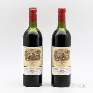 Chateau Lafite Rothschild 1982, 2 bottles