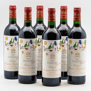 Chateau Mouton Rothschild 1997, 6 bottles