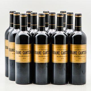 Chateau Brane Cantenac 2015, 12 bottles
