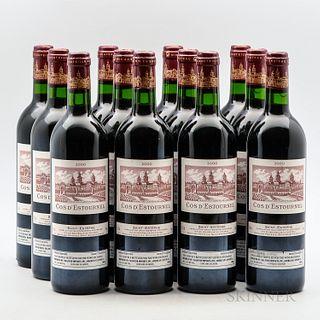 Chateau Cos d'Estournel 2000, 12 bottles