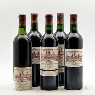 Chateau Cos d'Estournel, 5 bottles