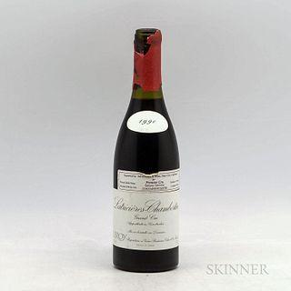 Domaine Leroy Latricieres Chambertin 1990, 1 bottle