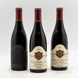 Hubert Lignier Morey St. Denis Vieilles Vignes 1997, 3 bottles