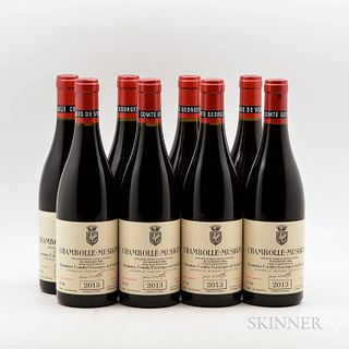 Comte Georges de Vogue Chambolle Musigny 2013, 8 bottles