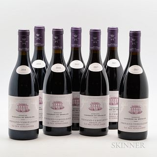 Chandon de Briailles Pernand Vergelesses Ile des Vergelesses, 7 bottles