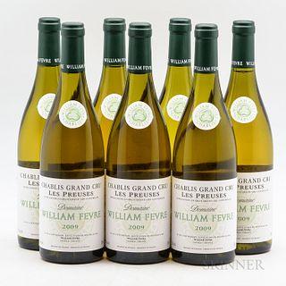 Fevre Chablis Les Preuses 2009, 7 bottles