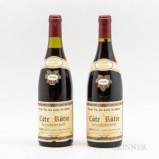 Jasmin Cote Rotie 1988, 2 bottles