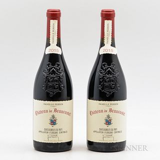 Chateau Beaucastel 2015, 2 bottles