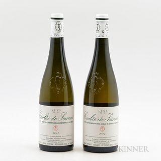 Nicolas Joly Savennieres Clos de la Coulee de Serrant 2011, 2 bottles
