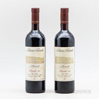 Azienda Bricco Rocche (Ceretto) Barolo Brunate 1997, 2 bottles
