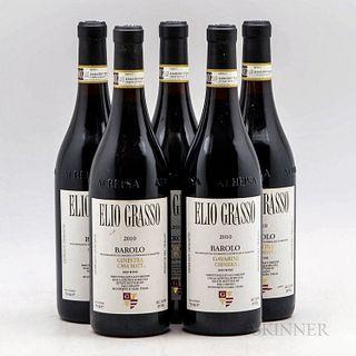Elio Grasso, 5 bottles