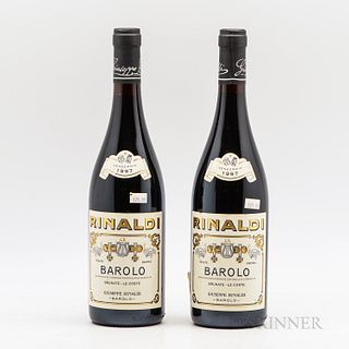 Giuseppe Rinaldi Barolo Brunate Le Coste 1997, 2 bottles