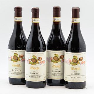 Vietti Barolo Castiglione 2015, 4 bottles