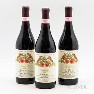 Vietti Barolo Lazzarito 2007, 3 bottles